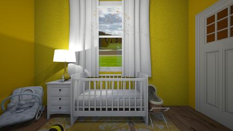 Yellow Nursery - Kids room  - by 20010761