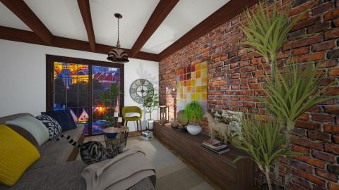 wall - Living room - by demetra019