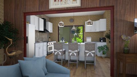 boho kitchen - Eclectic - Kitchen  - by steker2344