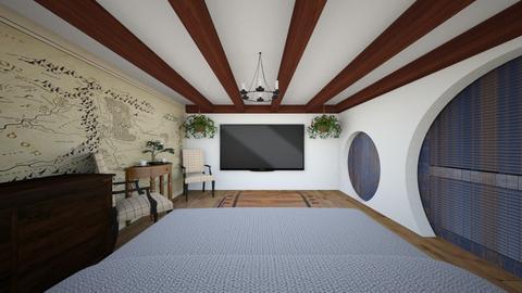 The Hobbit Room 2 - Bedroom  - by SammyJPili