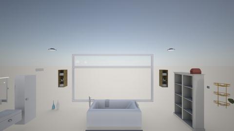Sykes - Minimal - Bathroom  - by jimenacarvajal