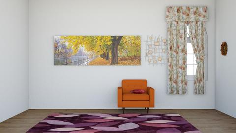 Autumn Pattern Hallway - by GalaxyWolf44