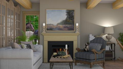 Farm house - Living room  - by zozan
