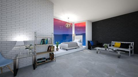 Modern Bedroom - Modern - Bedroom  - by slothsarethebest