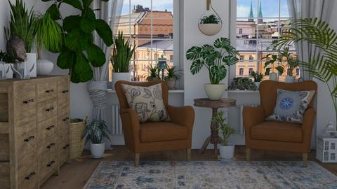 Green thumb - Living room  - by Tuija