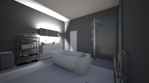 modern style bathroom - Bathroom  - by Kyliee08