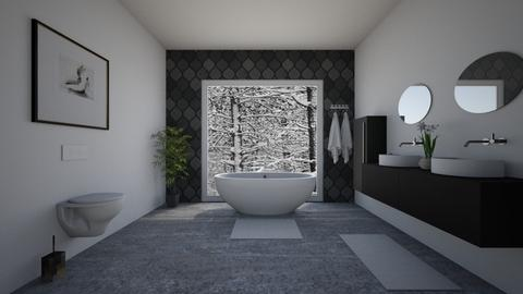 Moden bathroom - Modern - Bathroom  - by ana pogorelec