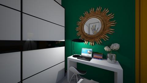 Bedroom study corner - Modern - Bedroom  - by MissChellePh