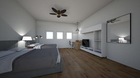 resort hotel room - Modern - Bedroom  - by lelandJ889