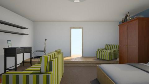 koncepció terv - Bedroom - by Ren707