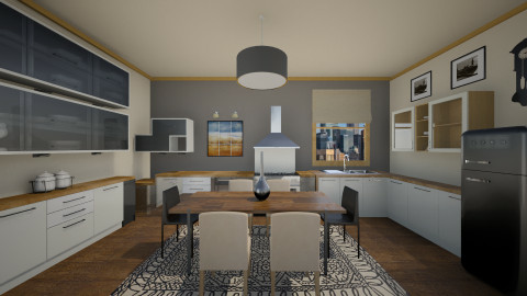 Anesis - Modern - Kitchen  - by vesperart