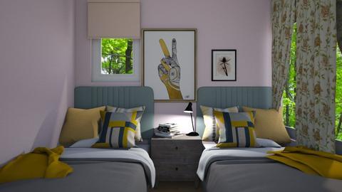 Cute Double - Modern - Kids room  - by CitrusSunrise