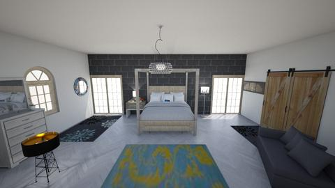 interior design project - Rustic - by iuliacotcaru
