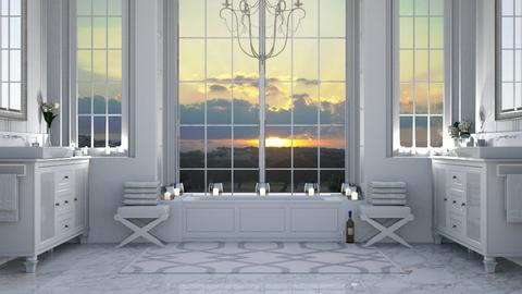 bagno panoramico - Bathroom  - by Charipis home
