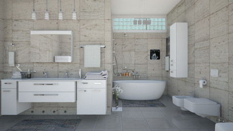 M_Virtual bathroom - Bathroom  - by milyca8
