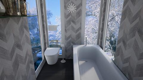 My winter bathroom - Bathroom  - by alyissa codd