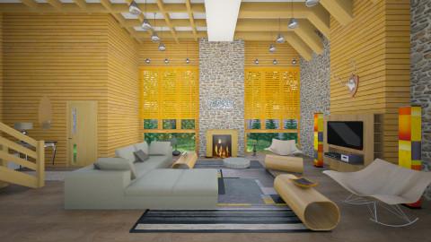 Alps - Modern - Living room  - by Ida Dzanovic