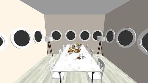 Fancy Morning Dining - Modern - Dining room  - by Architectureisbeautiful