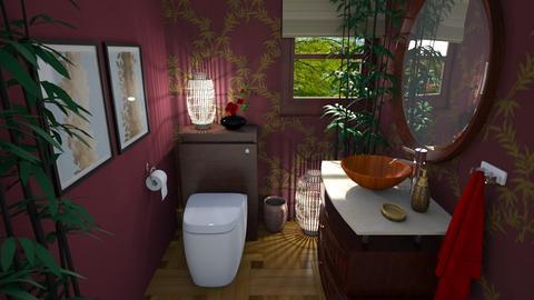 Arty Toilet Room - Bathroom  - by  krc60