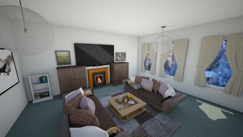 cozee - Country - Living room  - by emivim