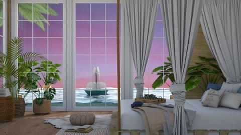 Vacay All Day  - Global - Bedroom  - by NEVERQUITDESIGNIT