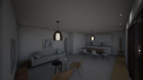 Recessed lighting draft 5 - Living room  - by gleidy
