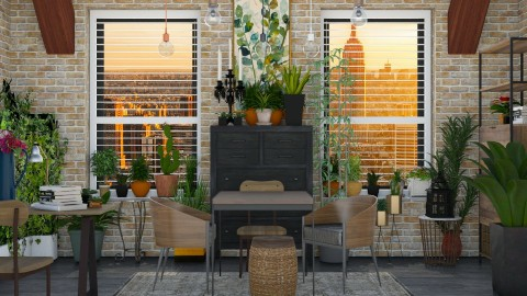 Green Thumb - Dining room - by Lye
