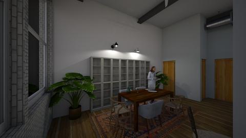 machine flats - Living room - by naumankm