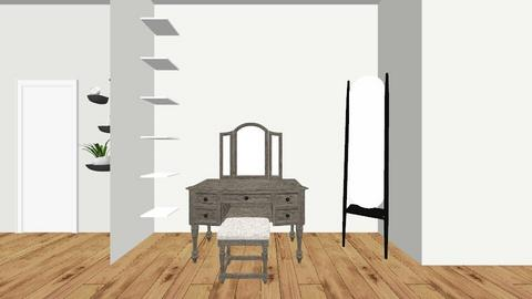 Master bedroom and closet - by carlystemmler