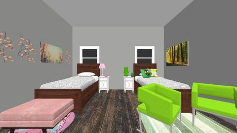 Twins Room - Kids room  - by Madison A