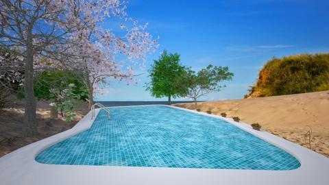 swimming pool - Bathroom  - by Malshi
