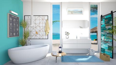 Nautical vibes - Bathroom  - by babucka