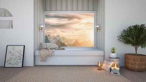 c o z y   d a y   b e d  - Living room  - by ferne mcalpin
