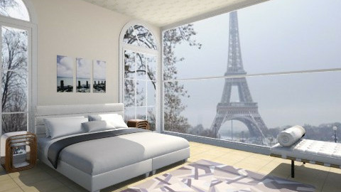 morning at apartment - Modern - Bedroom - by mariareyna