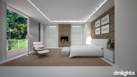 Campos do Jordão - Bedroom  - by DMLights-user-983971