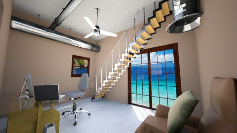 Mini Office - Modern - Office  - by 3D_Creater