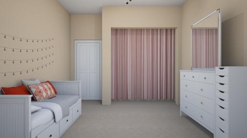 nicoles room - Bedroom - by sjones23