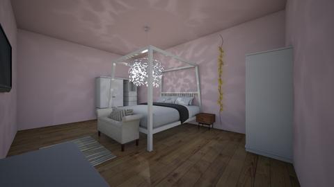 bedroom idea - Feminine - Bedroom  - by tehe_lyla