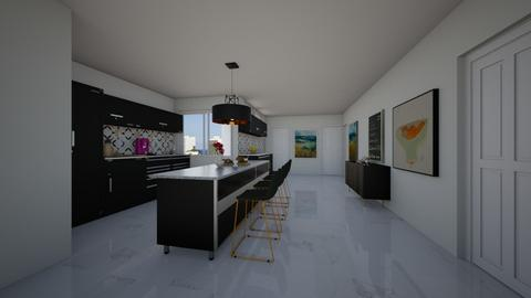 MURANO II - Kitchen - by flacazarataca_1