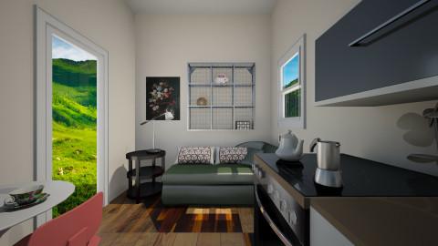Main Room Micro Home View - by Christina Zouras