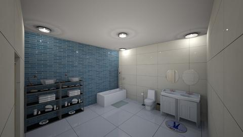 Upstairs Full Bathroom - Bathroom - by Rsvo64