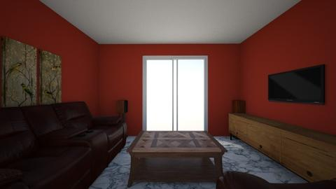 living room 01 - Modern - by Tucey