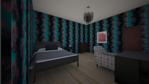Flower Bedroom - Bedroom  - by Crystal frost breath