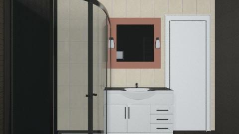 BrownBeige - Classic - Bathroom  - by SzKitti10