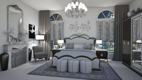 Hollywood Glamour - Glamour - Bedroom  - by LadyVegas08