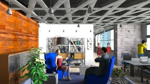 S_F_Office - Modern - Office  - by anjuska9