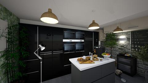 MODERN KC - Modern - Kitchen  - by thanhngoc