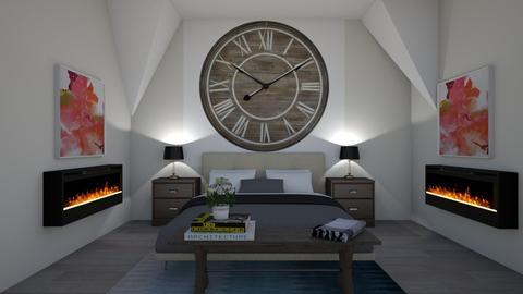 Clock Wall - Bedroom - by natd