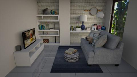 Cantinho Leitura Atelier - Retro - Office  - by Mariesse Paim