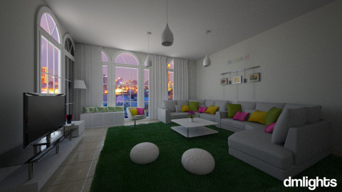 living lights - Living room - by DMLights-user-991812